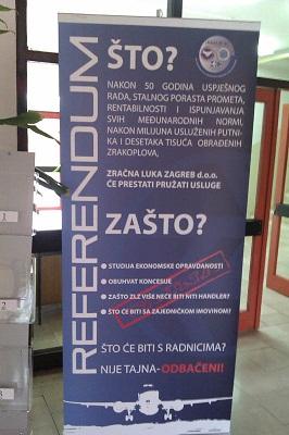 Problemi na Zračnoj luci Zagreb